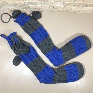 Victoria's Secret PINK Slipper Mukluks Knit Boots